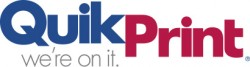QuikPrint_Were On It_Logo_Red 200_Blue 280_Cool Gray 10
