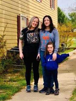 Positive Tomorrows family greets teacher parade